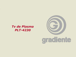 Apresentação Treinamento televisor plasma PLT