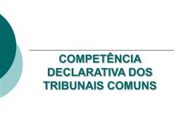 COMPETÊNCIA INTERNA - Faculdade de Direito da UNL