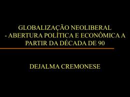 da velha para a nova ordem mundial – 1945-1989