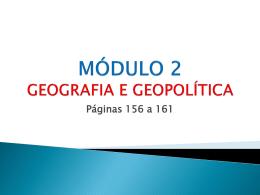 GEOGRAFIA E GEOPOLÍTICA