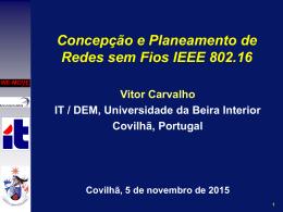 Wimax - Universidade da Beira Interior