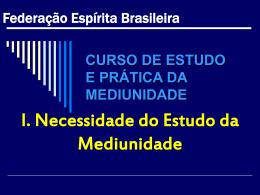 CURSO ESTUDO PRATICA DA MEDIUNIDADE