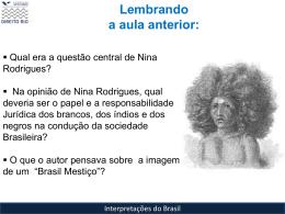"""Aula 4: Carl Von Martius """"Como se deve escrever a história do Brasil"""""""