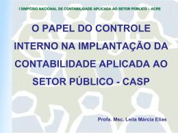 CONTROLE INTERNO - CRC