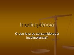 Inadimplência - Capital Social Sul