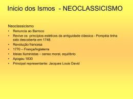 Neoclassicismo aula