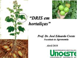 José Creste - Nutricao de Plantas