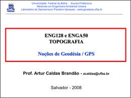 Slide 1 - Engenharia de Agrimensura e Cartográfica