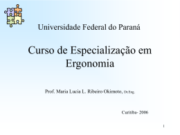 Universida d e Federal do Paraná
