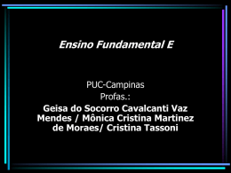 Ensino Fundamental E - PUC