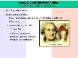 Revolução Francesa – Século XVIII (2007) - Clique Aqui