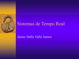 Jaime Dalla Valle Junior - Sistema de Tempo Real