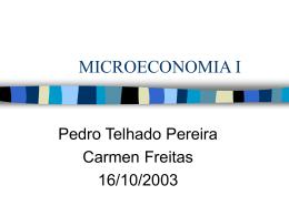 MICROECONOMIA I