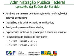 Forum dos SPOAS mar 09 - Ministério do Planejamento, Orçamento