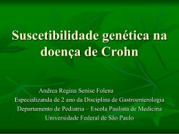 Suscetibilidade genética na doença de Crohn