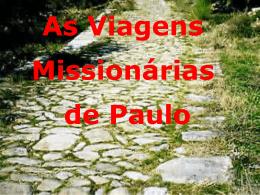 Viagens Missionárias de Paulo