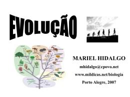 EVOLUÇÃO - Mauro Parolin