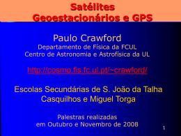 Satélites Geoestacionários e GPS