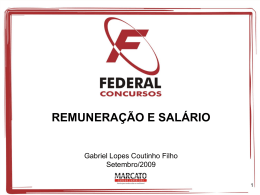 SALÁRIO - Gabriel Lopes Coutinho Filho