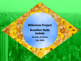 Brazil Watch - The Millennium Project