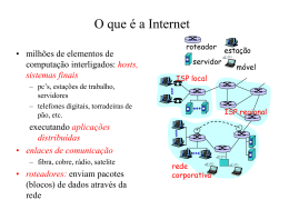 Aula7(kurose) - Sistemas de Informação UFLA 2007