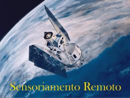 SIG/Apresentação - Sensoriamento Remoto
