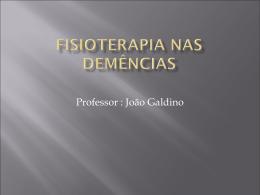 Fisioterapia nas Demências - Universidade Castelo Branco