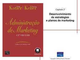 Desenvolvimento de estratégias e planos de marketing