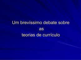 + Teorias currículo 1