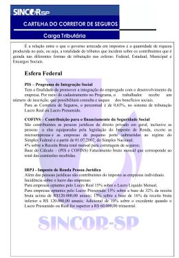 IRPJ - Imposto de Renda Pessoa Jurídica
