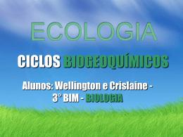 CICLO BIOGEOQUIMICO - eezp
