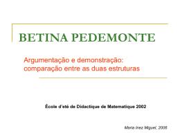 Pedemonte, 2002