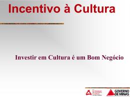Mesa Redonda Produção Cultural e Incentivo Fiscal no Brasil