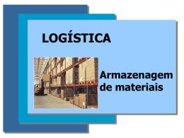 Armazenagem de Materiais - Universidade Castelo Branco