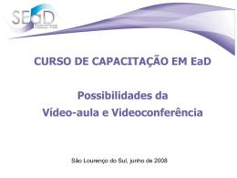Vídeo- aula