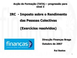 IRC - exercícios