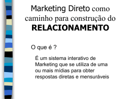 Aula 06 - Marketing Direto