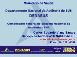 Fundos de Saúde - Ministério Público do Estado do Piauí