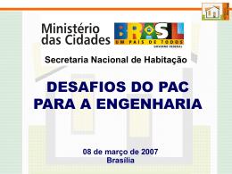 Secretaria Nacional de Habitação