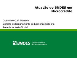 BNDES Microcrédito
