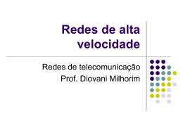 Redes de telecomunicação - professordiovani.com.br