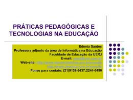 a metodologia da webquest interativa na educação online