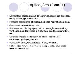 Aula 01 - Aplicacoes