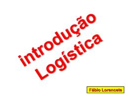introdução Logística