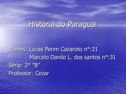 História do Paraguai