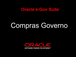 Compras Governo - Oracle Software Downloads