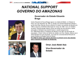 NATIONAL SUPPORT GOVERNO DO AMAZONAS