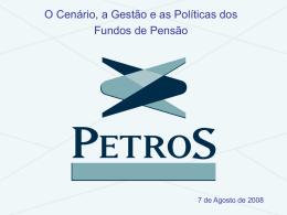 Política de Investimentos 2008 - 2012