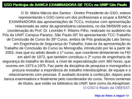 Fotos Banca Examinadora TCC Pós em Engª Seg. Trabalho