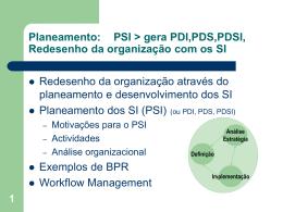 Planeamento GSI